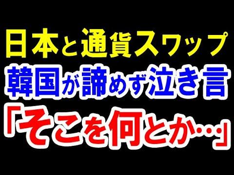 【韓国の反応】「日本と通貨スワップを...」金融危機に向けてお隣が