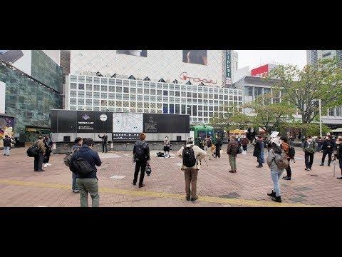 2020.04.12 要請するなら補償しろ!デモ@渋谷ハチ公前広場