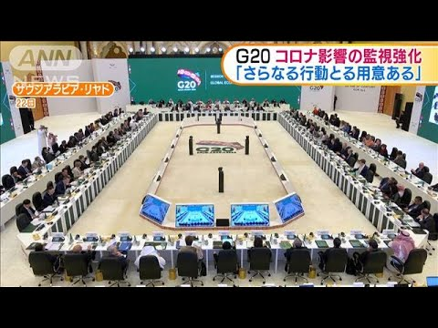 G20声明 コロナ影響の監視強化「さらなる行動も」(20/02/24)