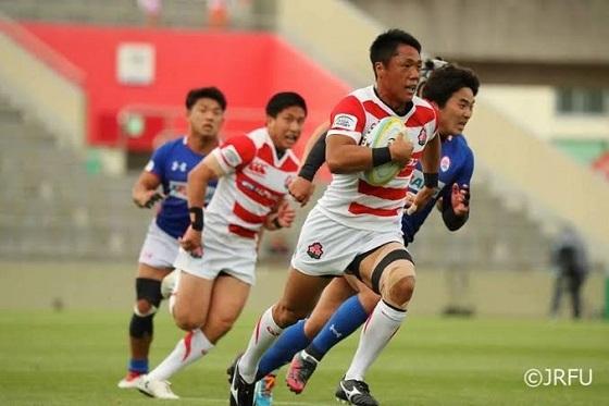 「アジアラグビーチャンピオンシップ2017」の【日本代表 vs 韓国代表】