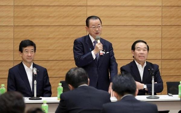 日韓議連・河村氏、基金法案を評価 元徴用工賠償金問題