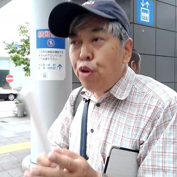 20191012不自由展で「被曝最高!相馬最悪」と叫ぶチンポム動画・『朝鮮語の隠語で在日を喜ばすための映像』