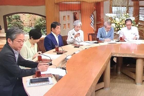 令和元年(2019年)7月7日「サンデーモーニング」日韓貿易問題について