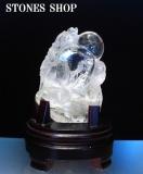 水晶龍彫り物2