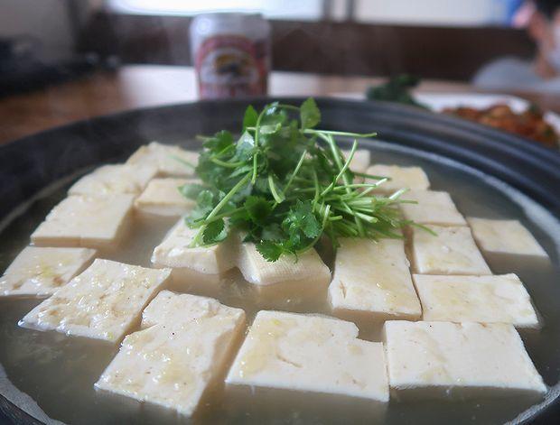 しょうが湯豆腐