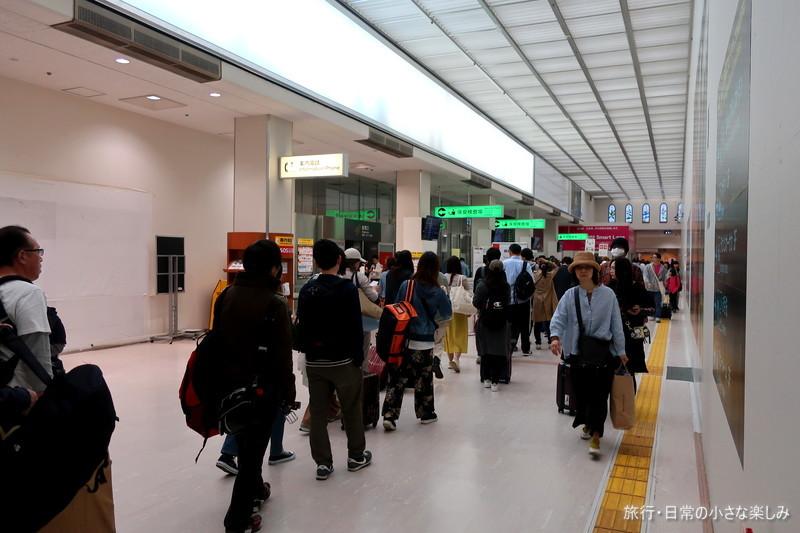 伊丹空港 GW混みぐわい