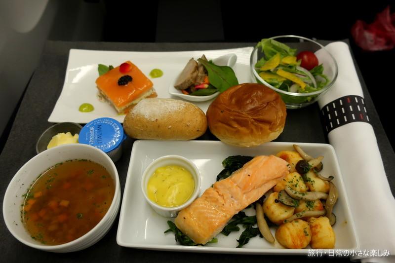 JL811 機内食 ビジネスクラス