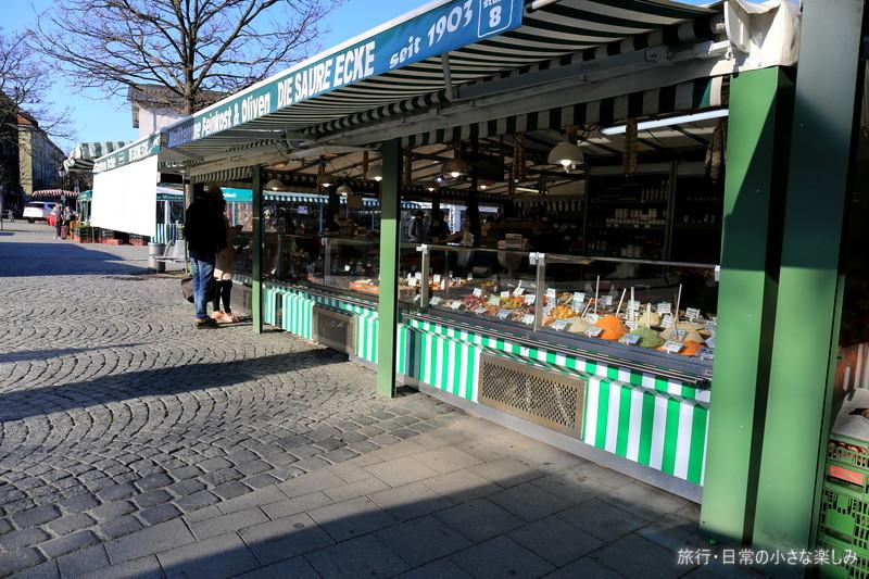 ドイツ ミュンヘン ヴィクトアーリエンマルクト市場 歴史
