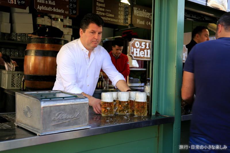 ヴィクトアーリエンマルクト 激安ビール