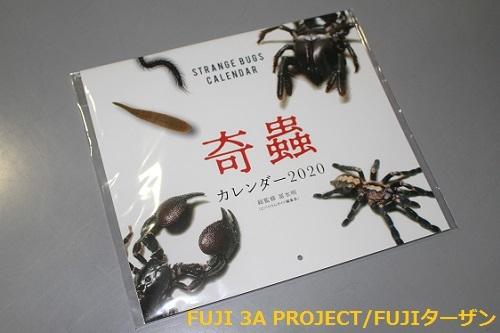 エムピージェー奇蟲カレンダー2020