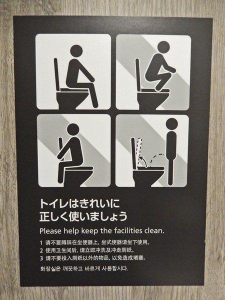 トイレの使い方ピクトさん
