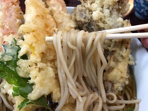 天ぷらそば3