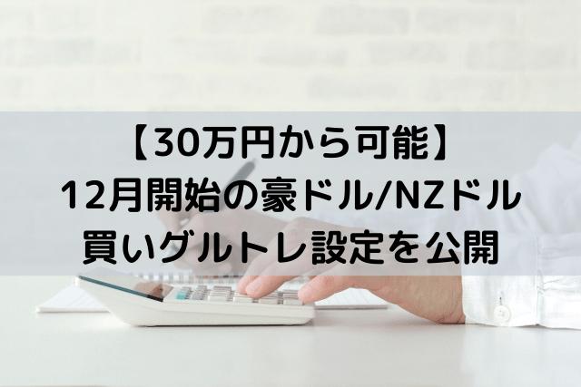 【新設定】豪ドル_NZドル 12月開始の買いグルトレを解説-min