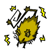 金色毛皮の火花ネズミ