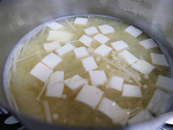 豆腐と味噌