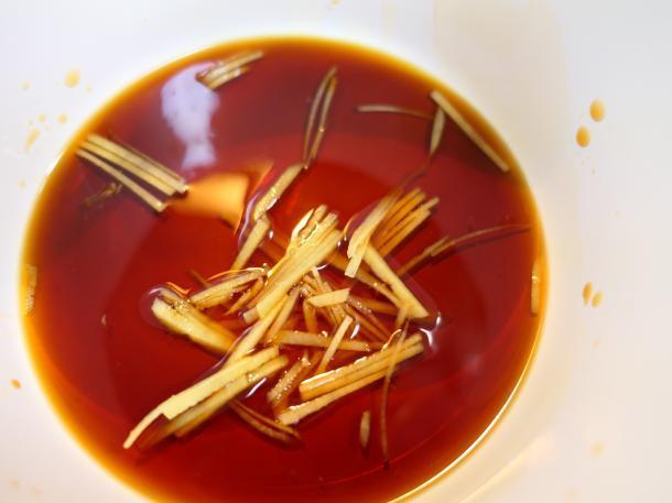 醤油に生姜