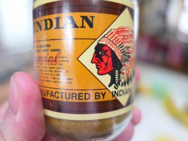 インディアンのカレー粉