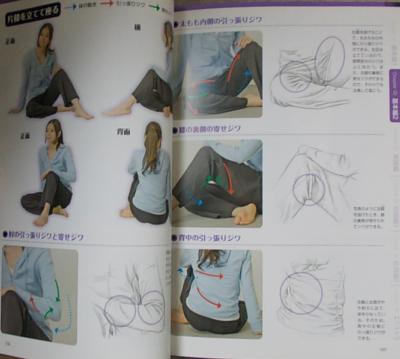 服のシワの描き方マスターブック (7)