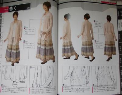 写真を見て描くリアルな質感表現 服のシワ (2)