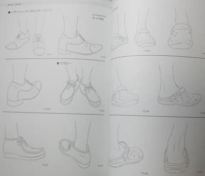 そのまま使える足と靴 (8)