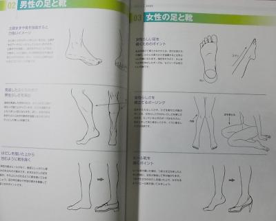 そのまま使える足と靴 (2)