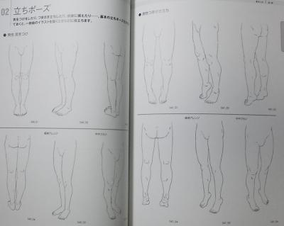 そのまま使える足と靴 (4)