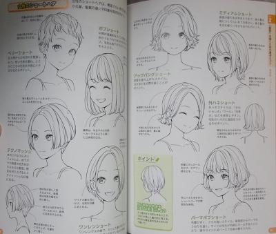 マンガキャラ顔髪型表情入門 (9)