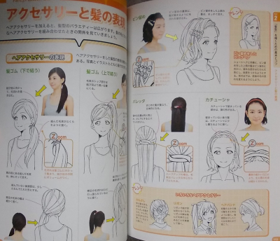 マンガキャラ顔髪型表情入門 (10)
