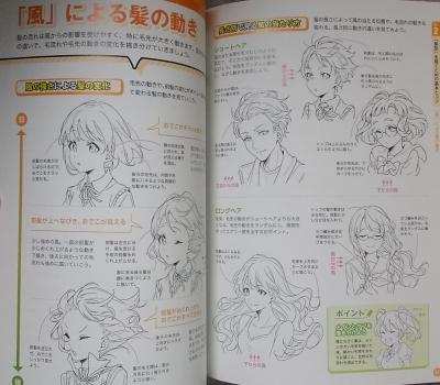 マンガキャラ顔髪型表情入門 (11)