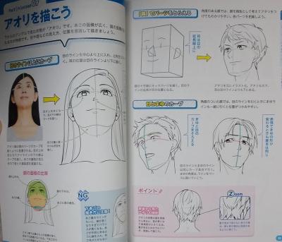 マンガキャラ顔髪型表情入門 (3)
