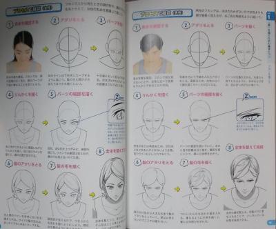 マンガキャラ顔髪型表情入門 (5)