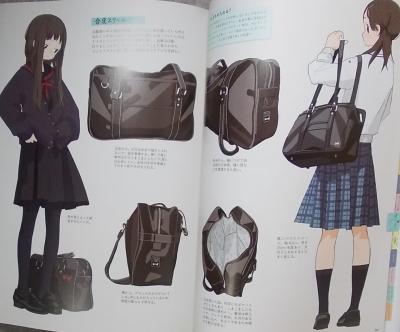 女子中高学生のイラストブック (8)