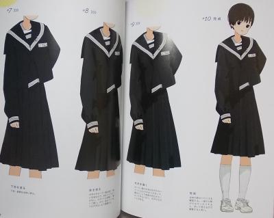 女子中高学生のイラストブック (10)