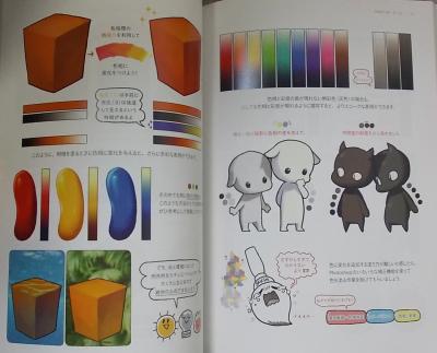 色塗りチュートリアル 立体感のあるキャラを描こう (13)