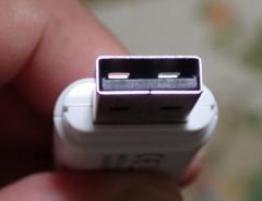 USB端子拡大