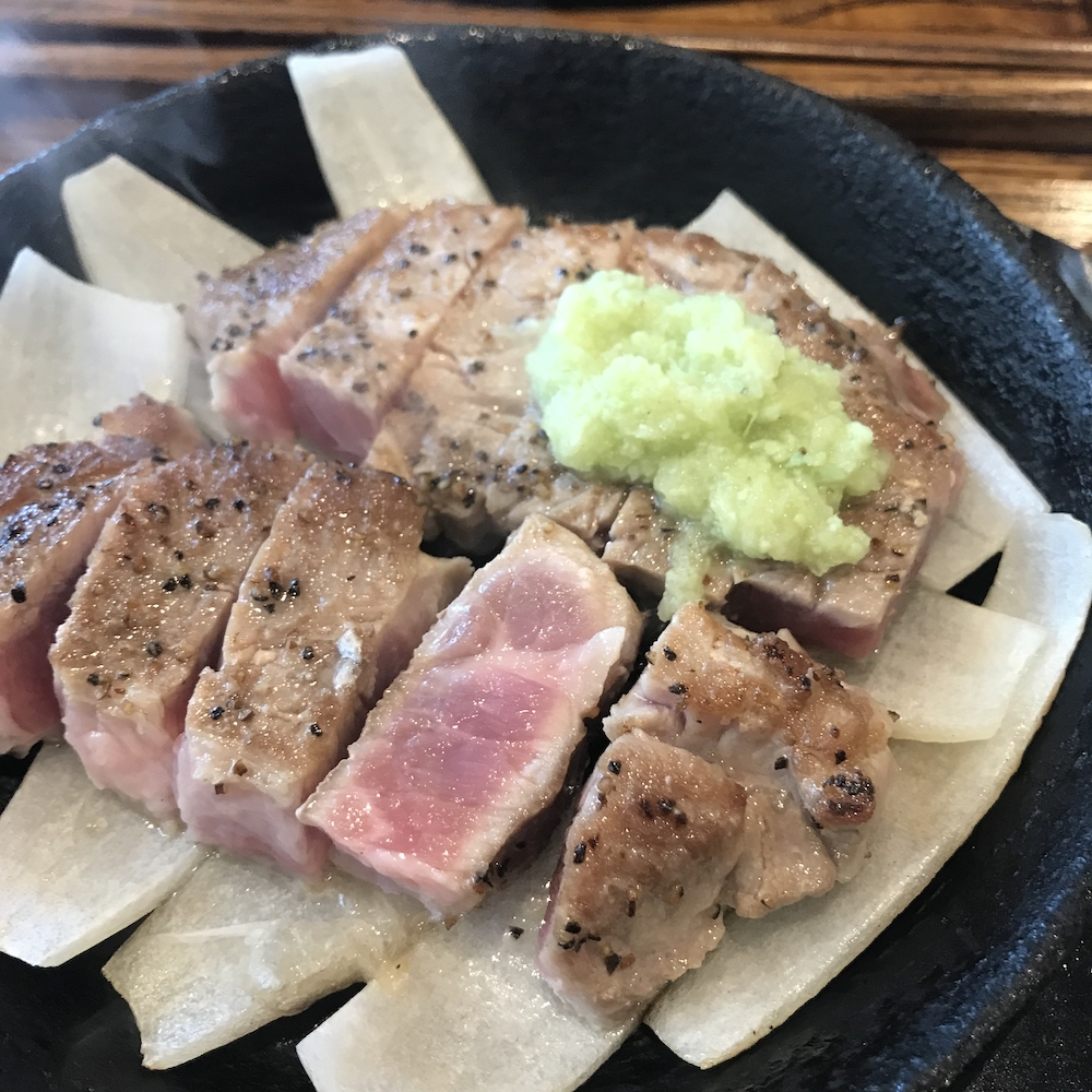 十一豚ステーキ