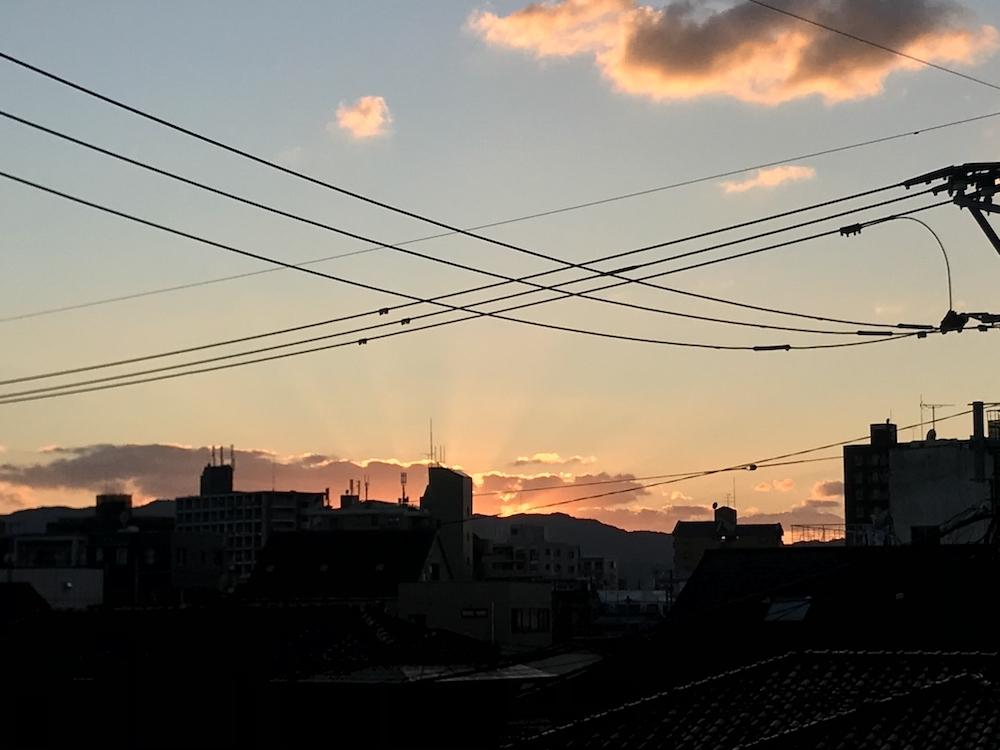 夕陽20191114