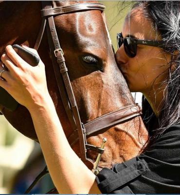 lisaと馬