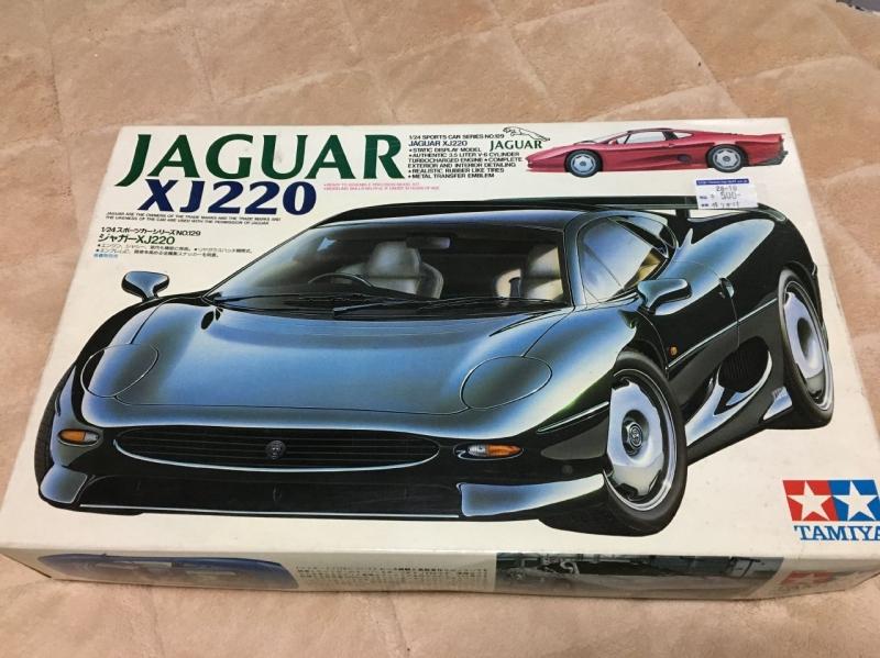 タミヤ ジャガーXJ220