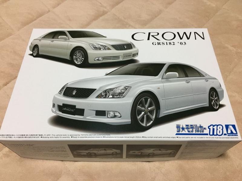 アオシマ モデルカー ゼロクラウン