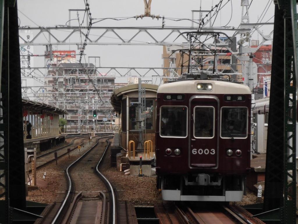 阪急宝塚線6003編成 普通大阪梅田ゆき