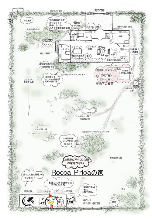 ロッカプリオアラの家M
