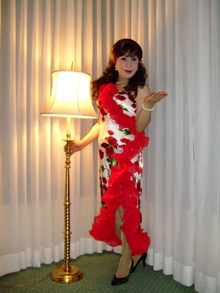 赤花のドレスA(1)