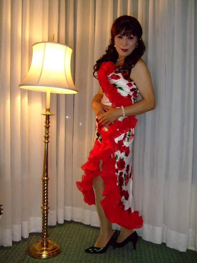赤花のドレスA(3)