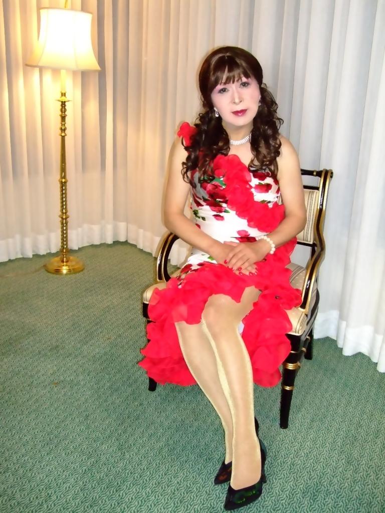 赤花のドレスA(5)