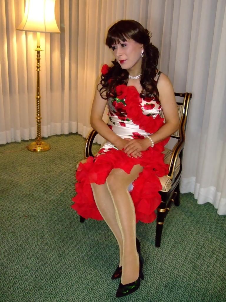 赤花のドレスA(6)
