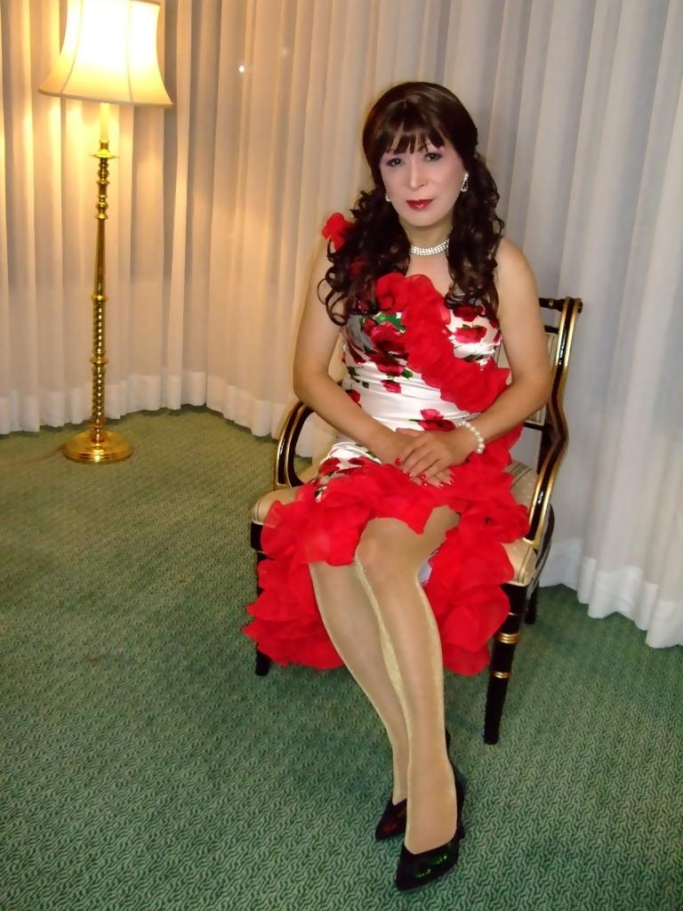 赤花のドレスA(7)