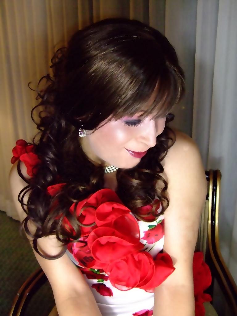 赤花のドレスB(2)