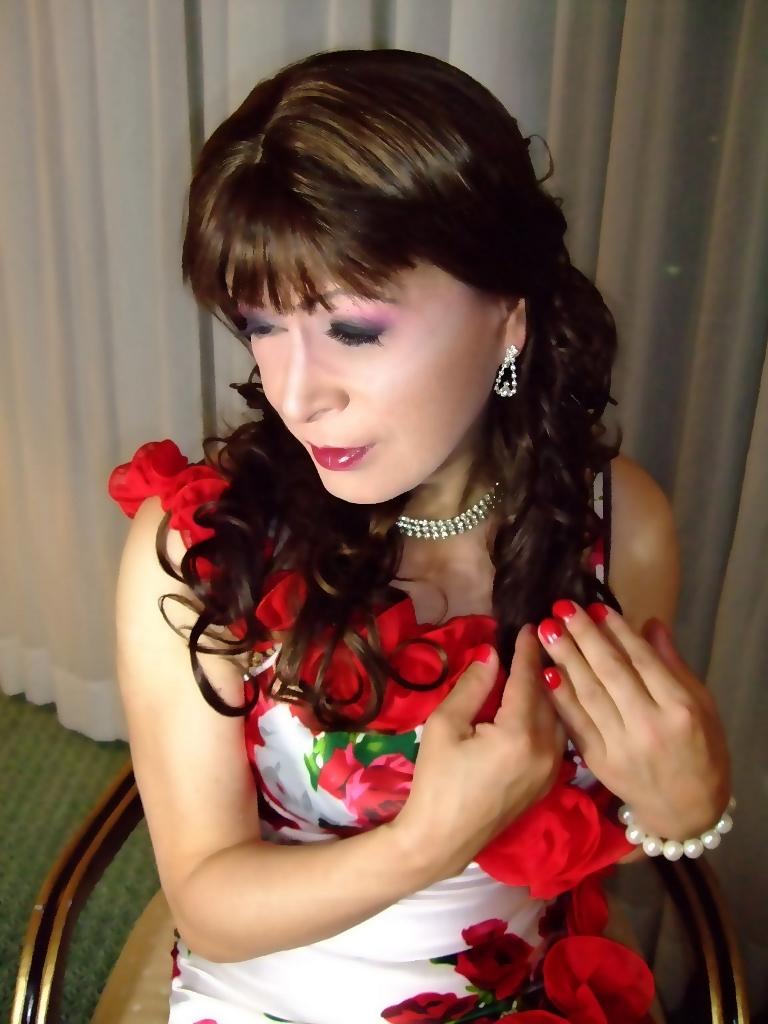 赤花のドレスB(5)