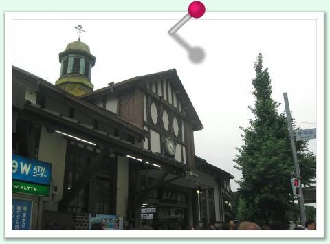 画鋲(原宿駅)